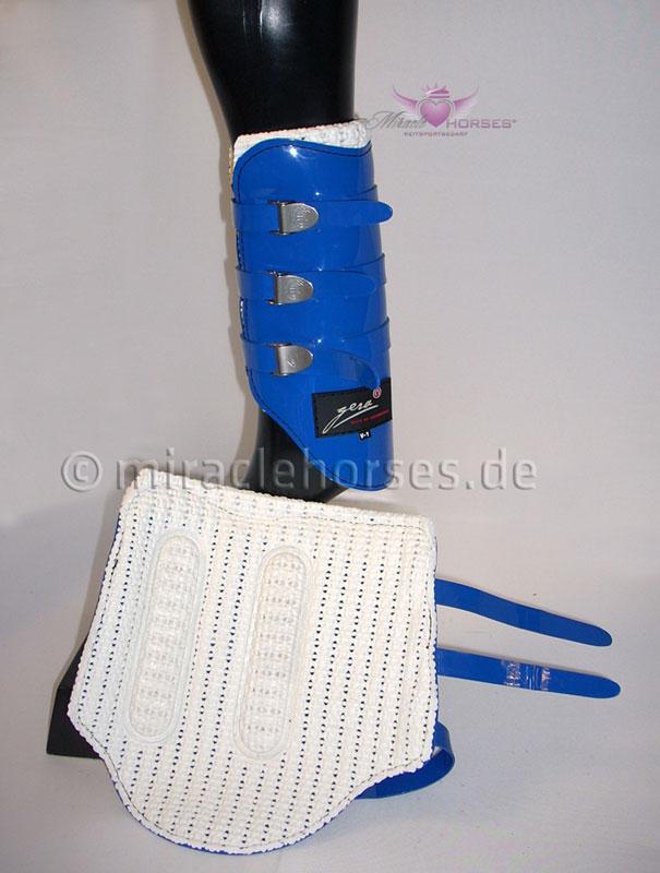 Gera Performance Gamaschen (vorne) Splint Stiefel blau V1 schwarz Gr. V1 blau Cob VB a97149