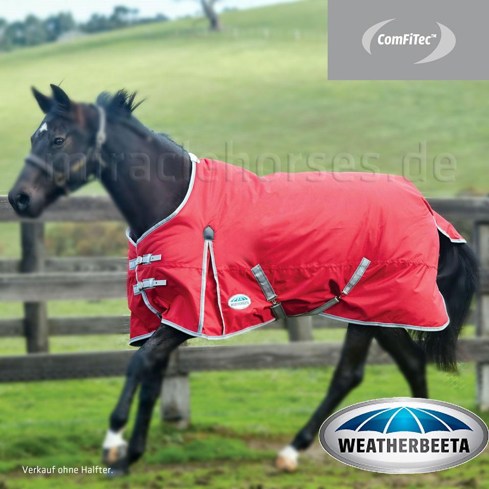 WeatherBeeta ComFiTec Classic Lite Regendecke ungefüttert red//silver rot NEU