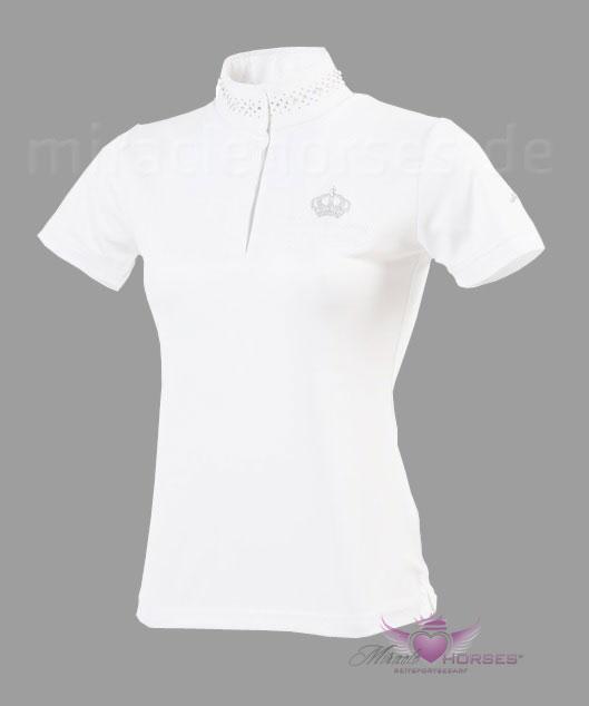 PFIFF Damen Turniershirt Crystal in navy /& weiß NEU