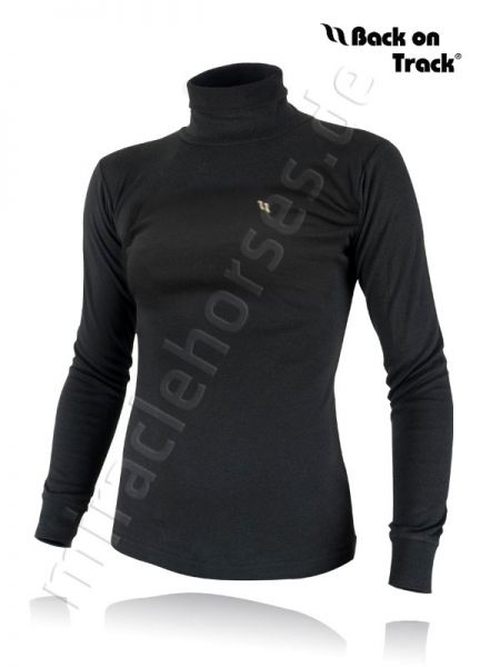 Back on Track Damen Sweatshirt mit Rollkragen