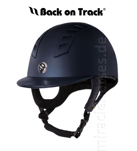 Back on Track EQ3 Reithelm Smooth Shell, blau