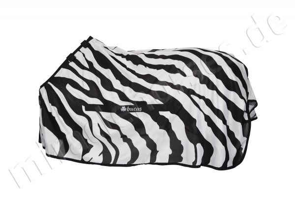 Bucas Buzz Off Zebra Detachable Neck (DTNK) Fliegendecke