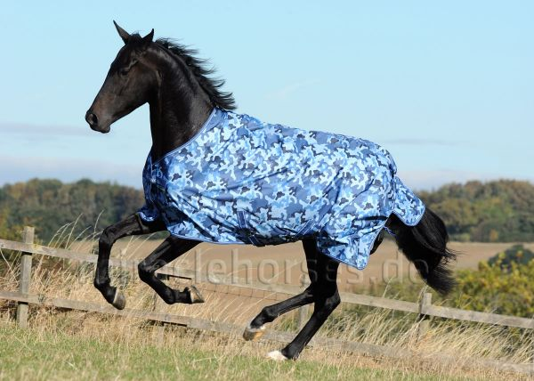 Bucas Freedom Turnout Light Regendecke, Blue Camouflage