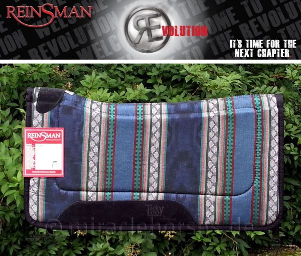 Reinsman Contour Pad Tacky Too - Corral Navy (#49)
