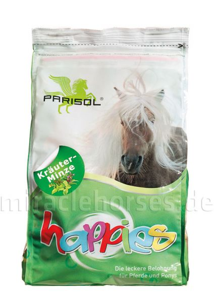 Parisol happies Kräuter-Minze Leckerlis, 1 kg