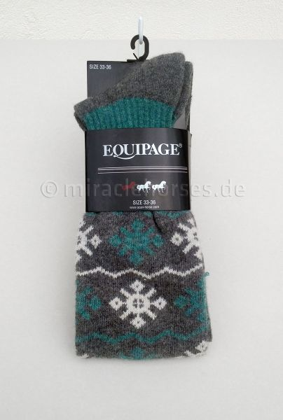 Equipage Winter-Reitstrümpfe Amy