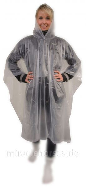 Equipage Regenponcho, transparent