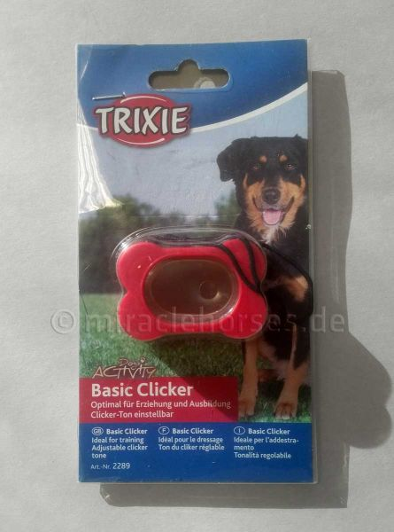 Trixie Basic Clicker, rot