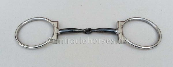 Snaffle Bit D-Ring Sweet Iron mit Kupferinlays