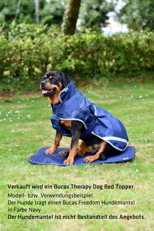 Bucas Therapy Dog Bed Topper