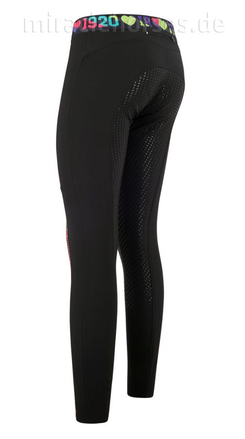 Imperial Riding Reitleggings Royalty, Black/Multicolor