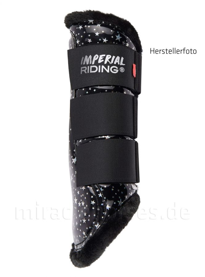 Imperial Riding Gamaschen Live Your Dream IV, Black Silver Star