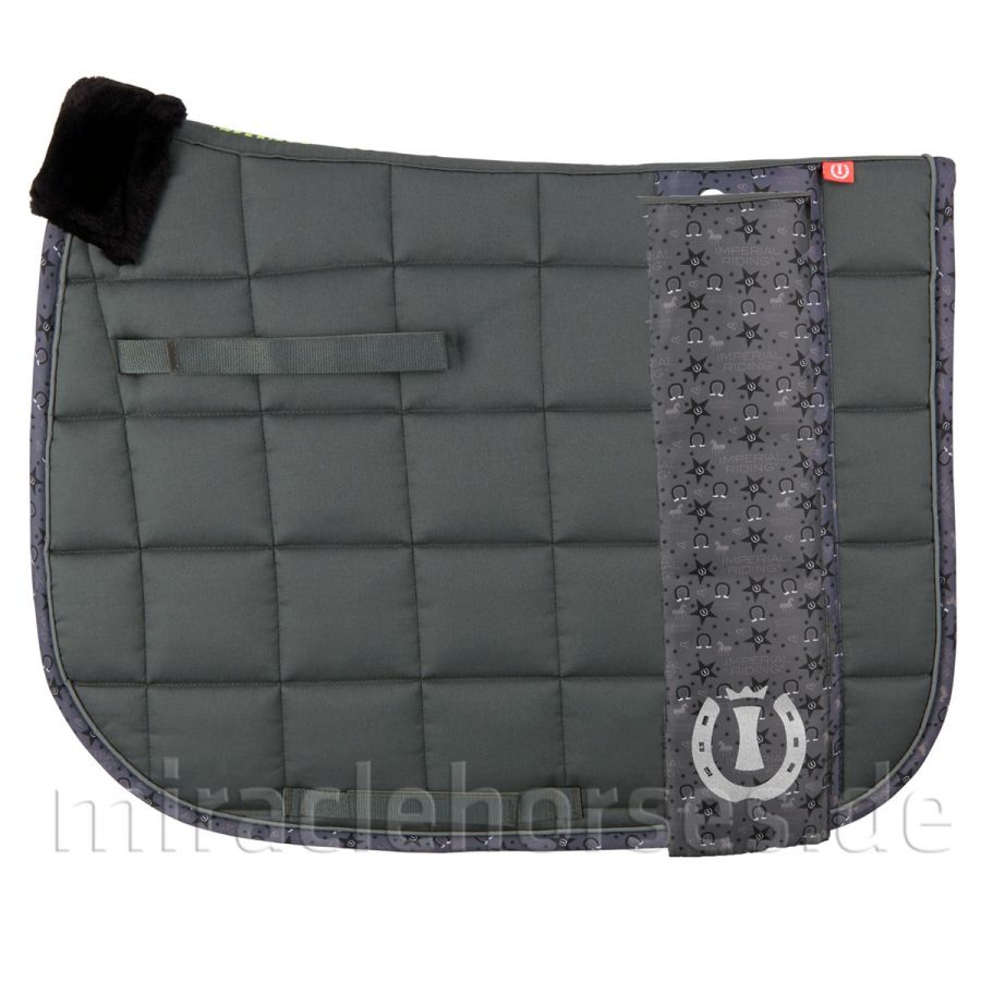 Imperial Riding Special Program Dressurschabracke, Anthracite