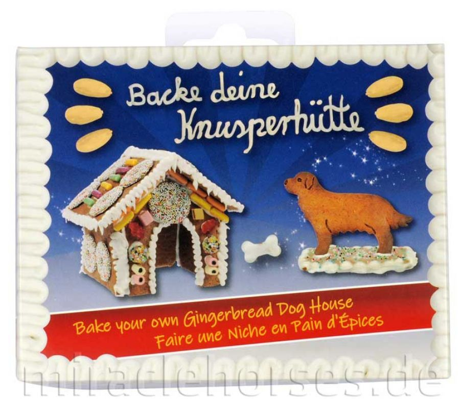 Back-Set Knusperhütte Hund