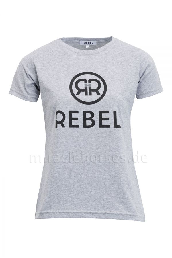 Rebel by Montar T-Shirt Zoey, Grey